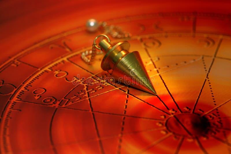 Pêndulo mágico fotografia de stock royalty free