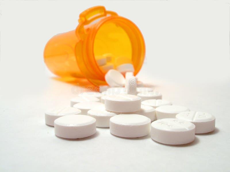 Píldoras Derramadas Imagen de archivo