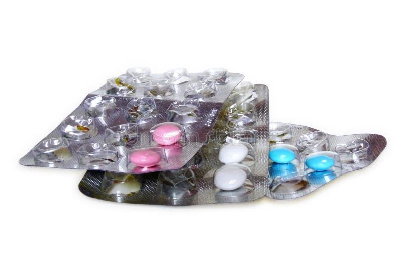 Píldoras en paquete de ampolla