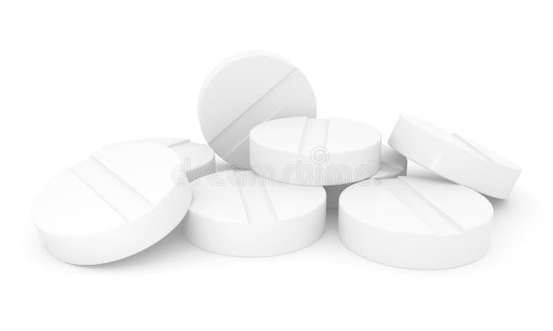 Píldoras médicas stock de ilustración
