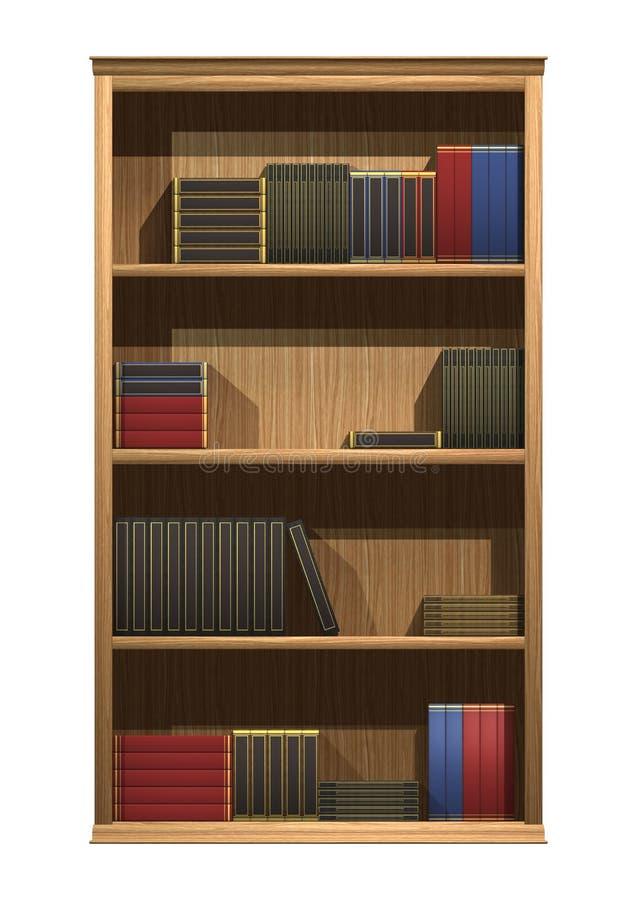 Półka na książki ilustracji