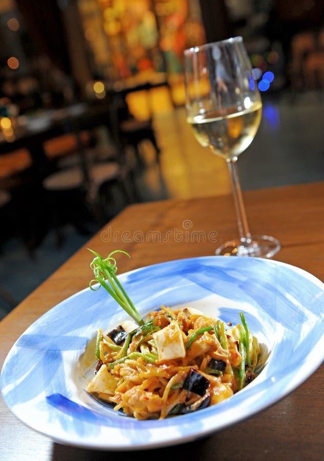 półkowy spaghetti zdjęcia royalty free