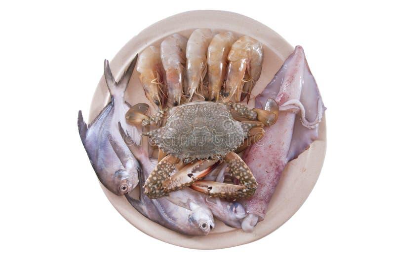 półmiska owoce morza zdjęcie stock