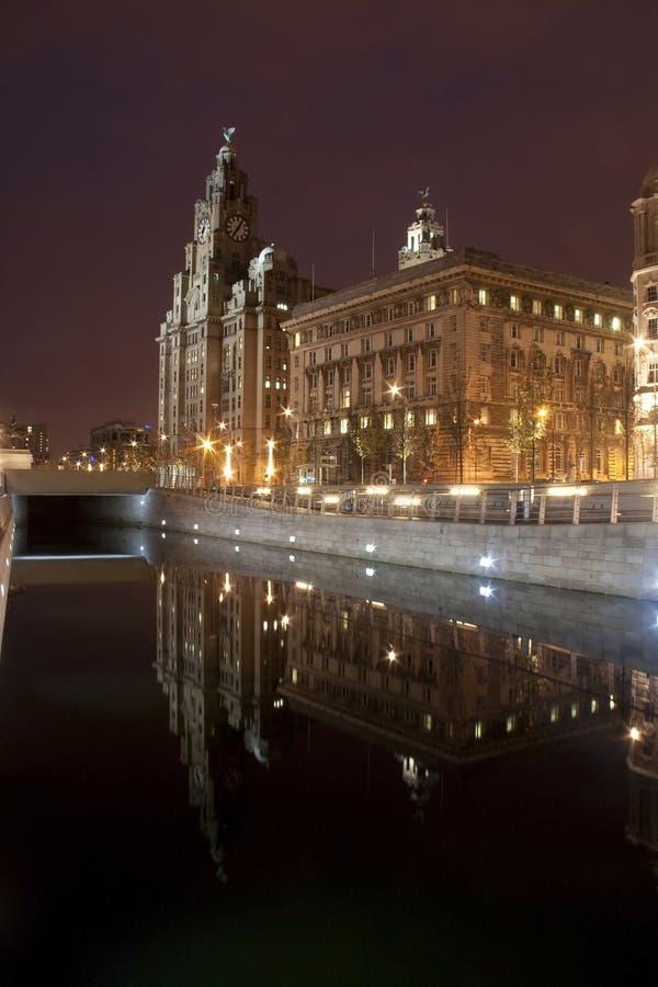 półmrok Liverpool zdjęcia royalty free
