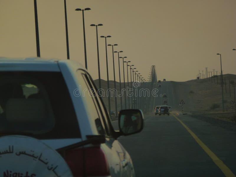 Półmrok przy Dubaj zdjęcie royalty free