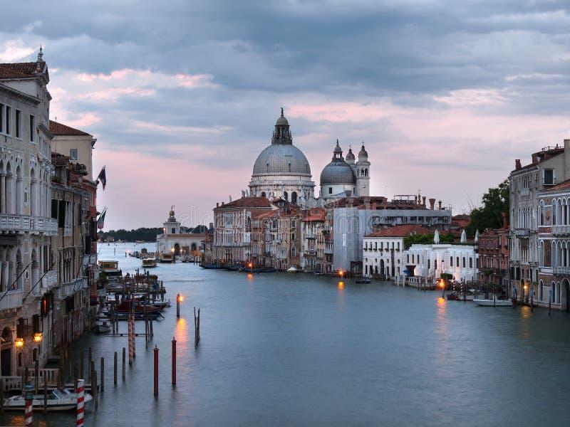 półmrok Venice obraz stock