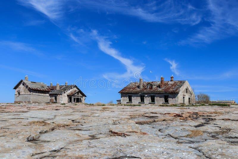 Północna kamienista wyspa zdjęcia stock