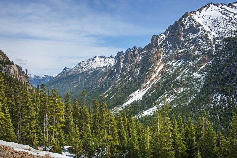Północne Kaskadowe góry zdjęcia royalty free