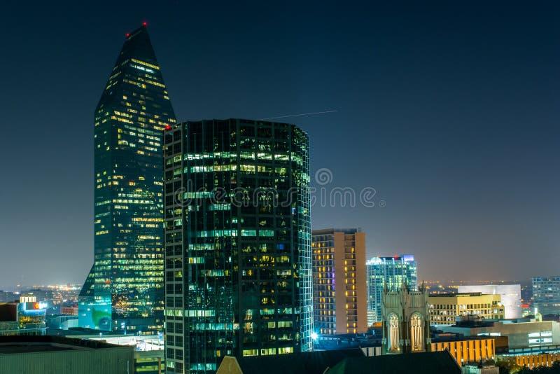 Północnego zachodu Dallas atmosfera zdjęcia royalty free