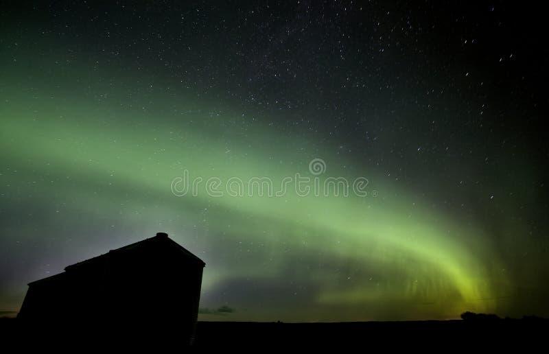 Północni Światła Saskatchewan Kanada fotografia stock
