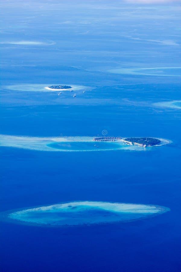 Północni Ari atole w Maldives obrazy royalty free