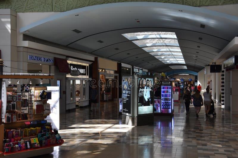 Północno-wschodni centrum handlowe w Hurst, Teksas obraz stock