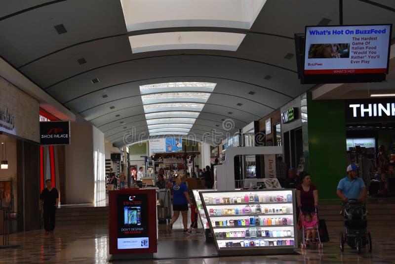 Północno-wschodni centrum handlowe w Hurst, Teksas zdjęcia stock