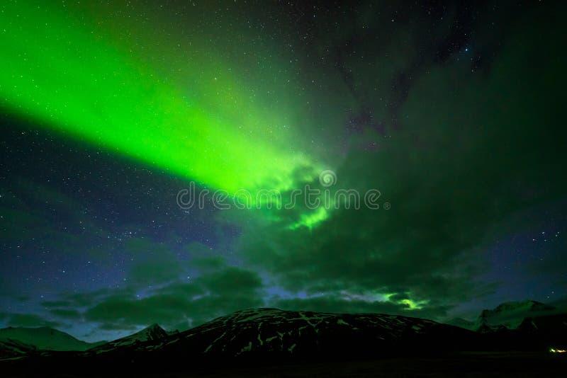 Północny światło zdjęcie royalty free