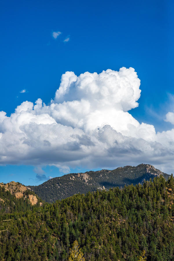 Północny Cheyenne jar Colorado Springs obraz royalty free