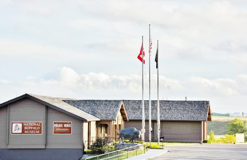 Północny Dakota krajowy bawoli muzeum obrazy stock
