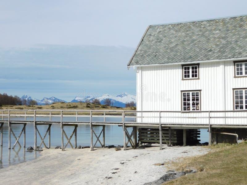 Północny dom zdjęcie royalty free
