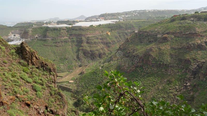 Północny Gran Canaria zdjęcie stock