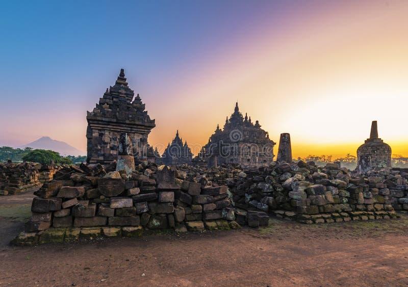Północny PLAOSAN świątyni kompleks fotografia royalty free