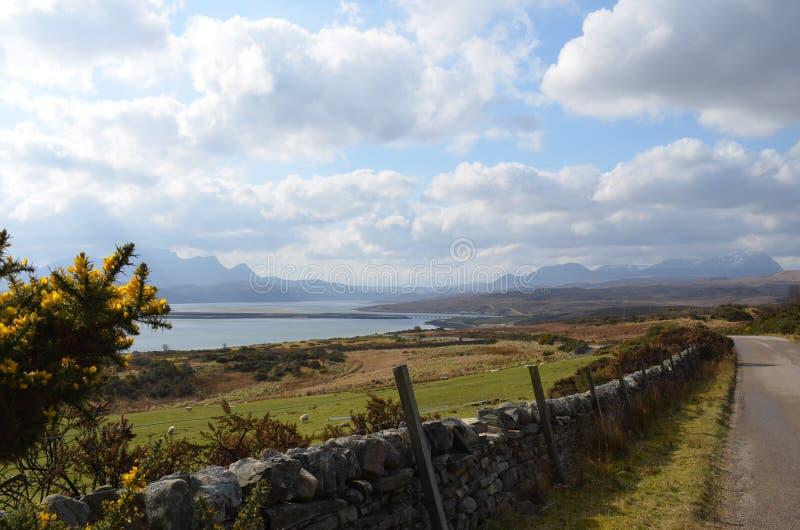 Północny Szkocja obrazy royalty free