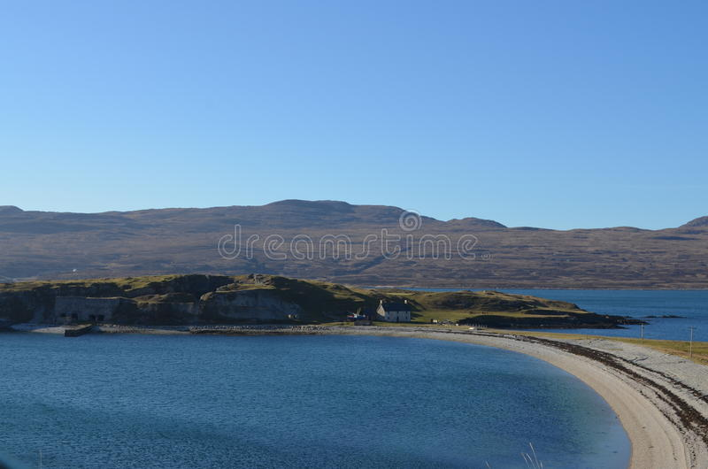 Północny Szkocja zdjęcia royalty free