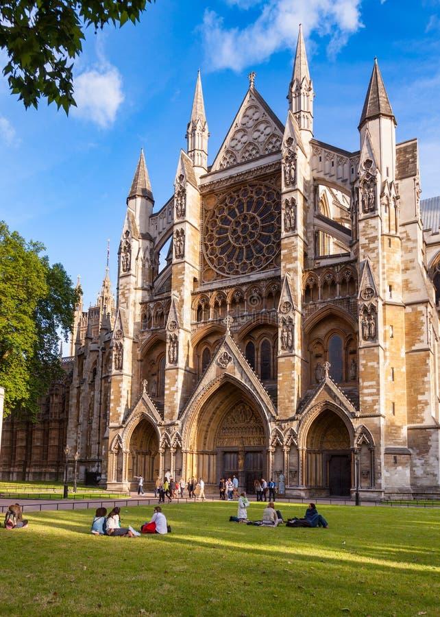 Północny wejście UK opactwo abbey Londyn zdjęcie royalty free