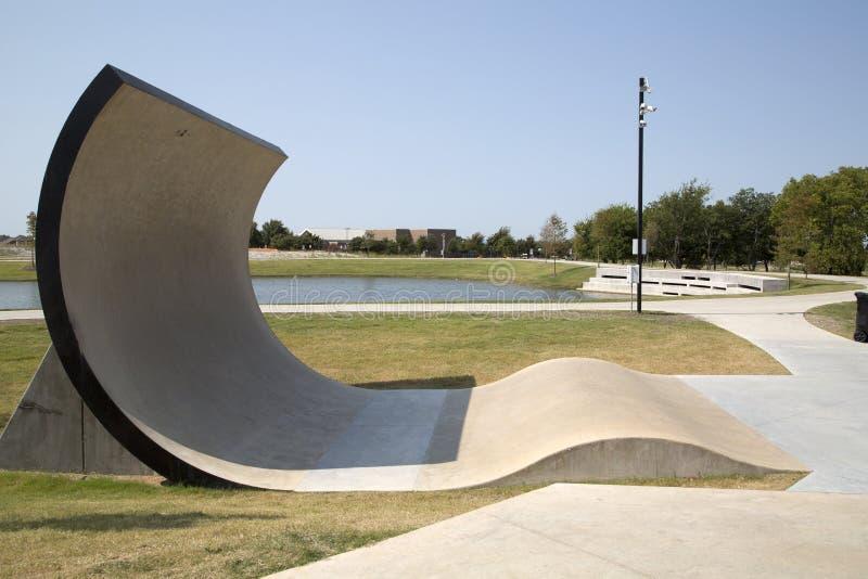 Północny wschód społeczności park Frisco TX obraz stock