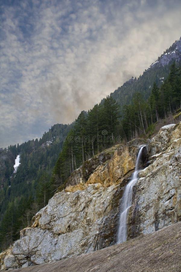 północny zachód pokojowej wodospadu obrazy stock