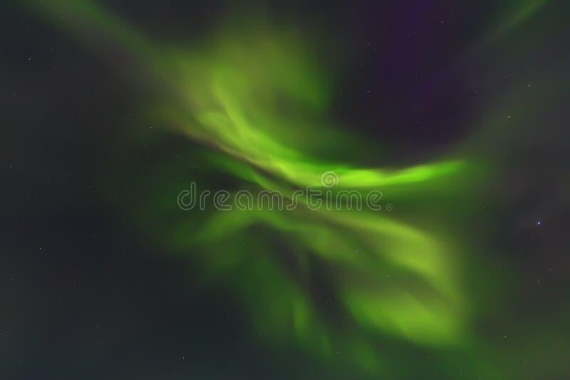 Północnych świateł tło zdjęcie royalty free