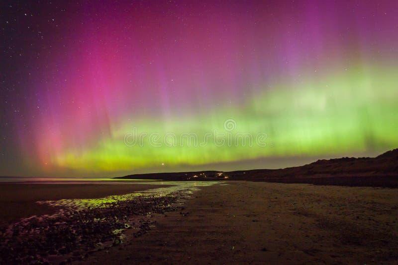 Północnych świateł zorza Borealis obraz royalty free