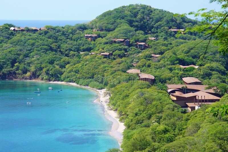 Półwysep Papagayo w Guanacaste, Costa Rica zdjęcie stock