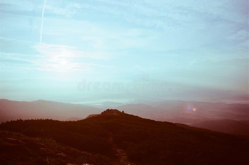 później wschód słońca obrazy royalty free