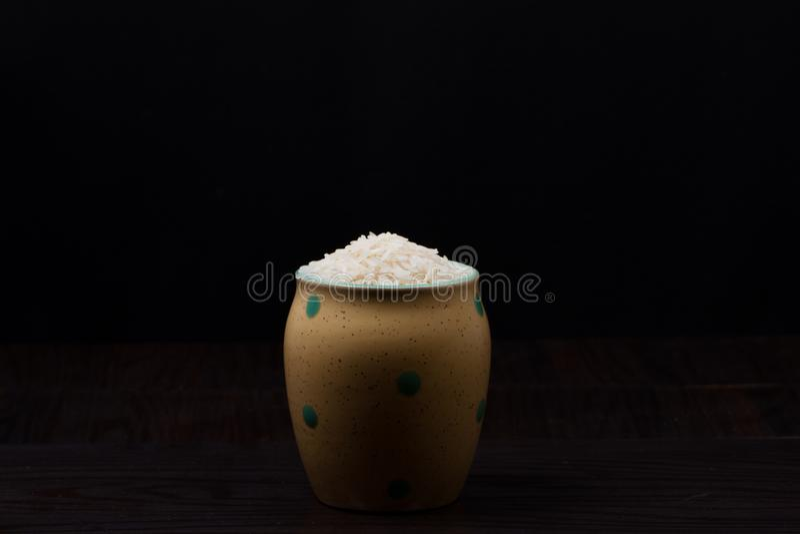 Pó indiano do alimento imagem de stock
