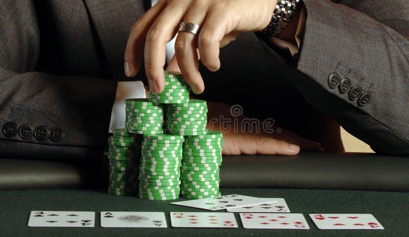 Póker 08 imagen de archivo