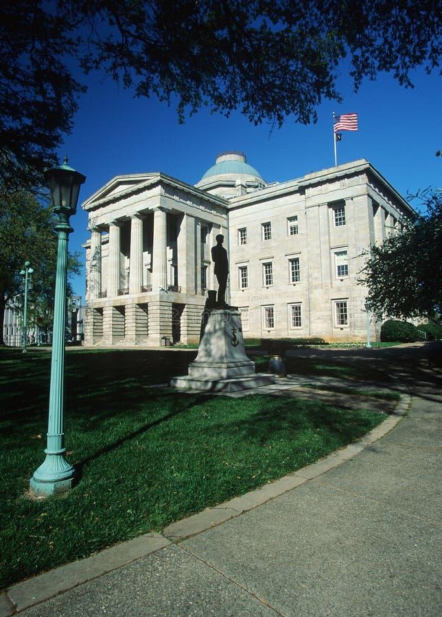 Pólnocna Karolina stan Capitol fotografia stock