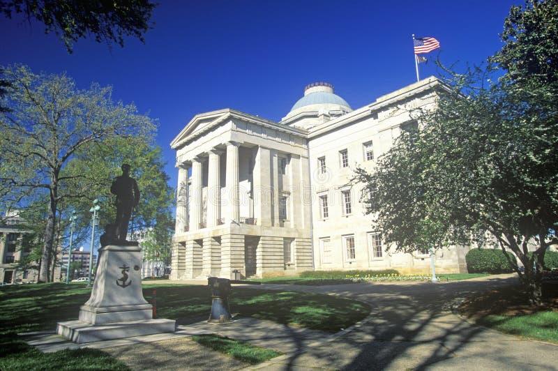 Pólnocna Karolina stan Capitol fotografia royalty free