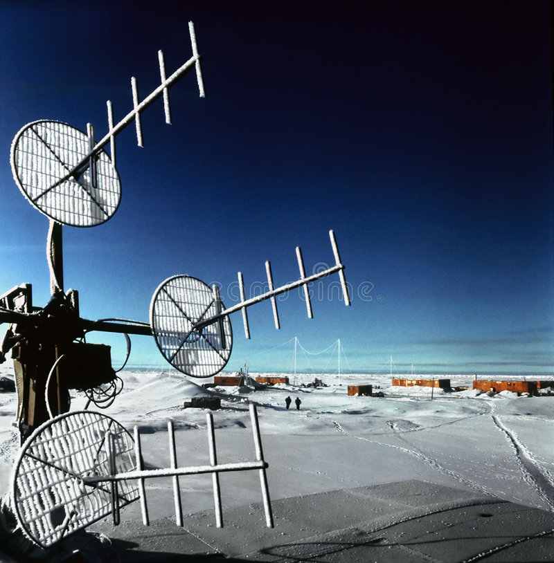 Pólo Norte da terra fotografia de stock