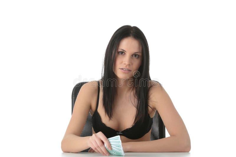 Download Póquer foto de stock. Imagem de preto, cabelo, menina - 12800998