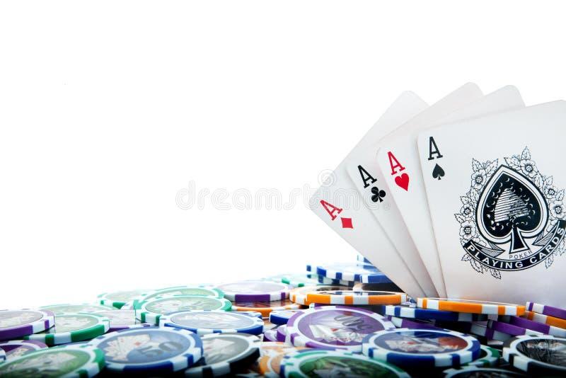 Póquer imagens de stock royalty free