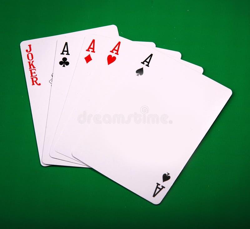 Pôquer fotografia de stock royalty free