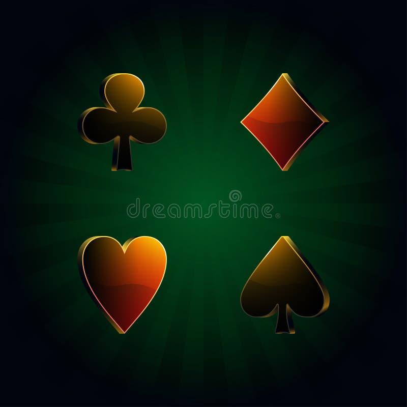 Download Póquer, illustr do vetor ilustração do vetor. Ilustração de banco - 26506557