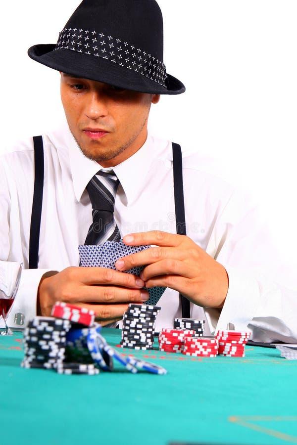 Póquer no estilo foto de stock