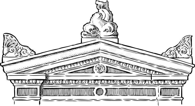 Pórtico ilustração do vetor