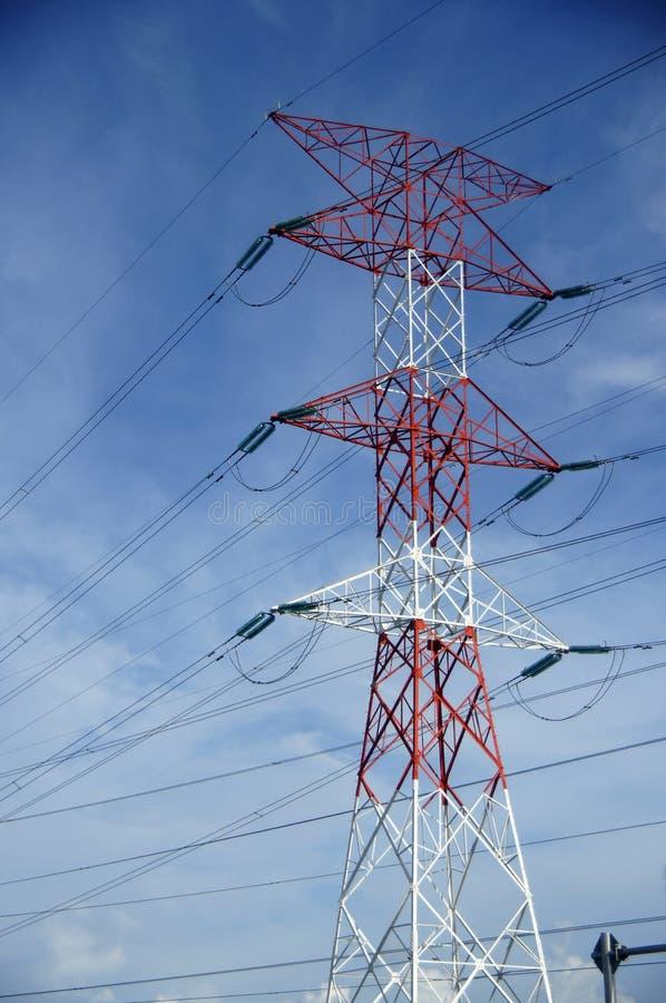 Pôle électrique photo libre de droits