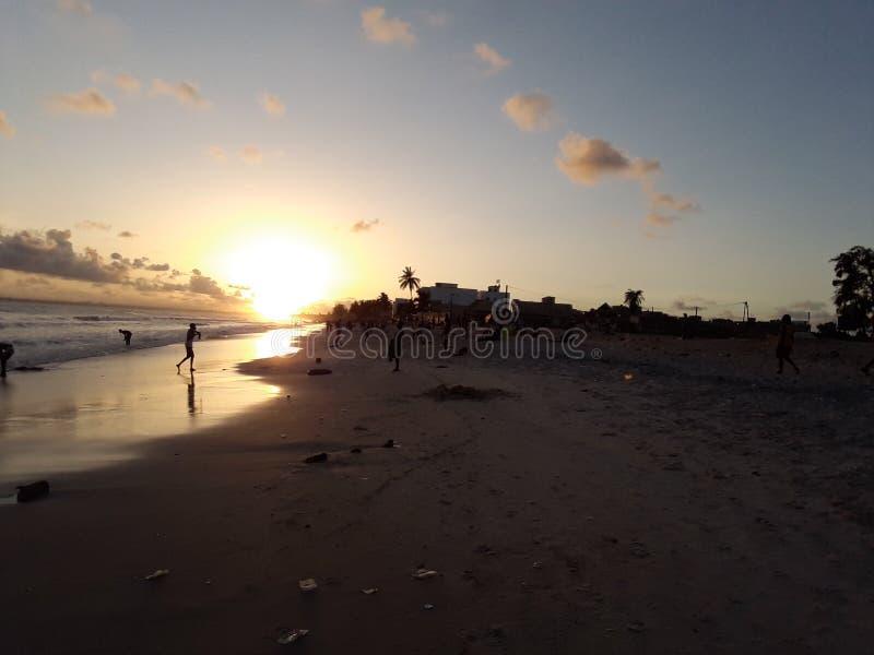 Pôr-do-sol em África fotos de stock