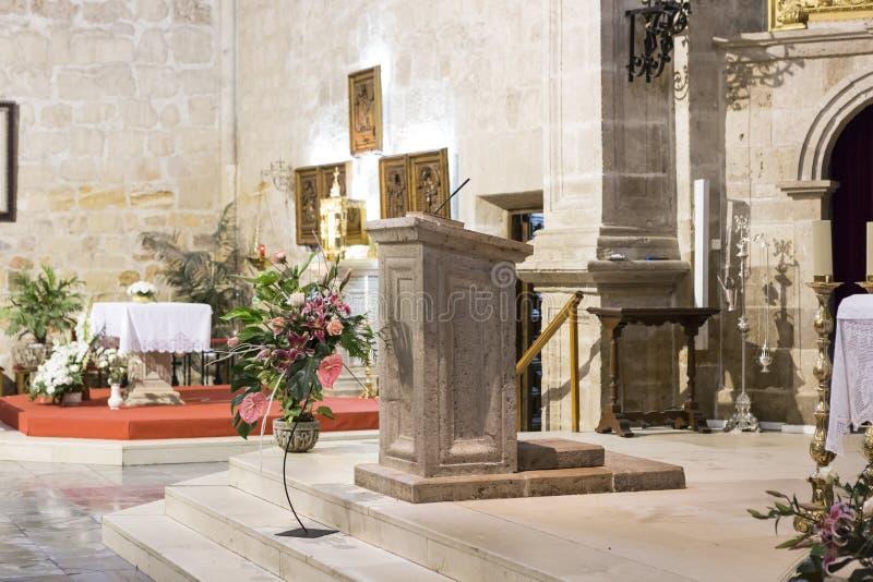 Download Púlpito imagen de archivo. Imagen de iglesia, católico - 28189429