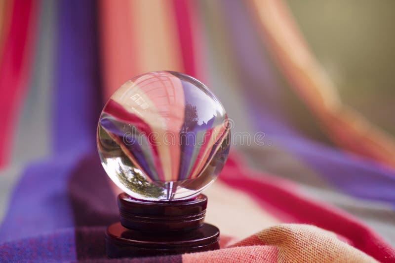 Púrpura, cierre para arriba, fotografía macra, vidrio fotos de archivo