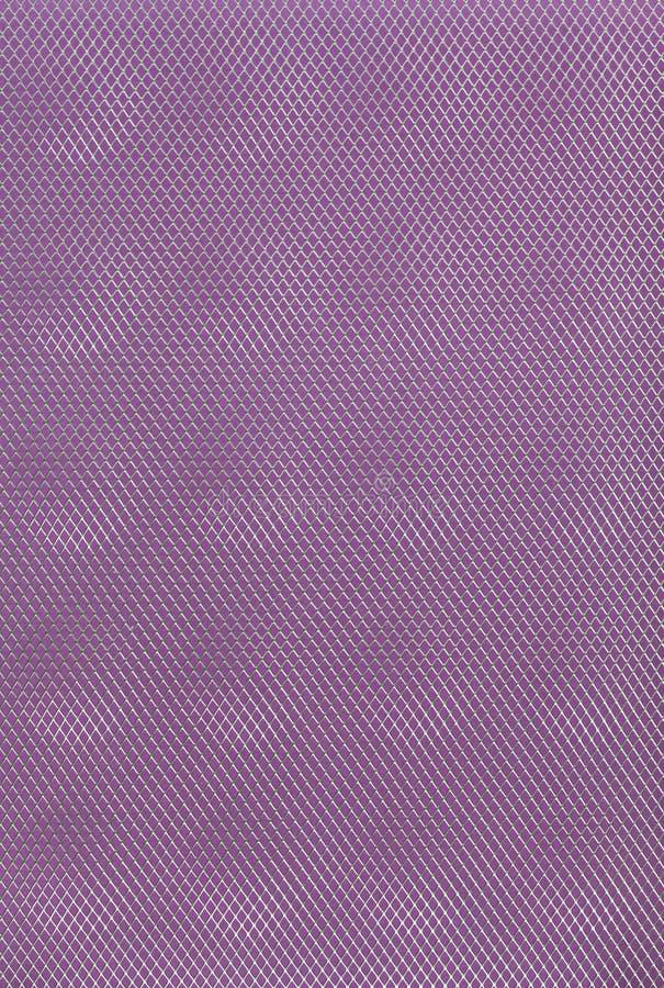 Púrpura, fondo abstracto gris violeta de la rejilla del metal fotos de archivo