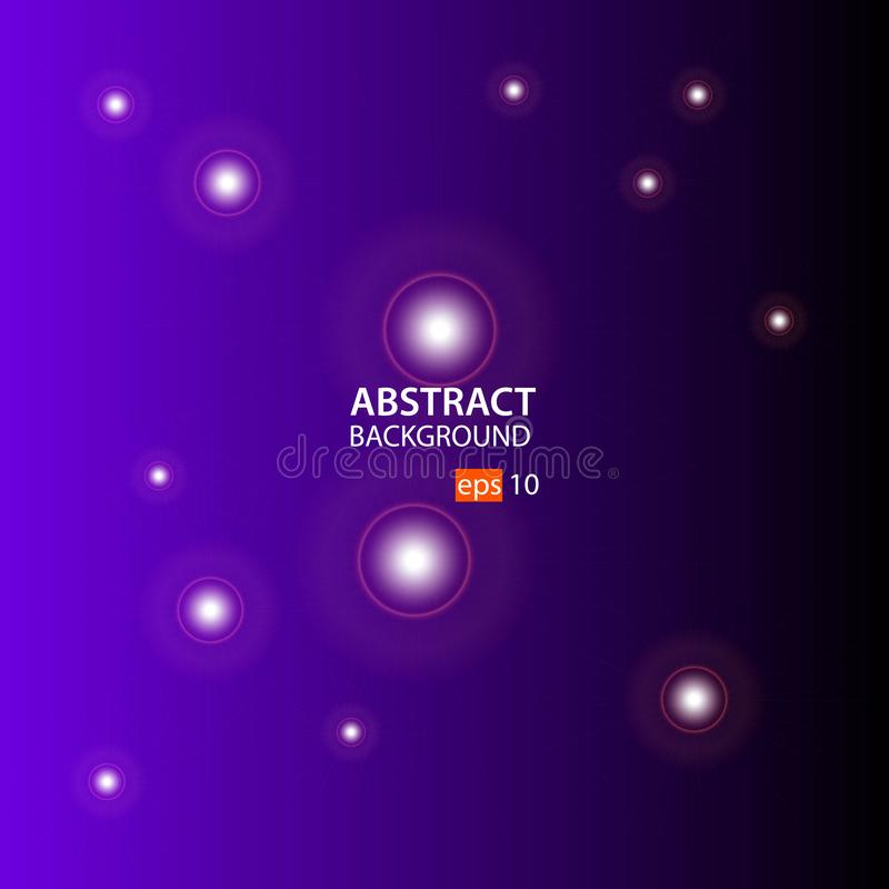 Púrpura, vector abstracto negro del fondo libre illustration