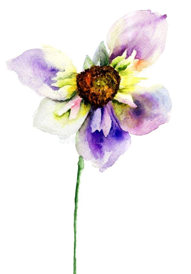 Pączek kwiat ilustracja wektor